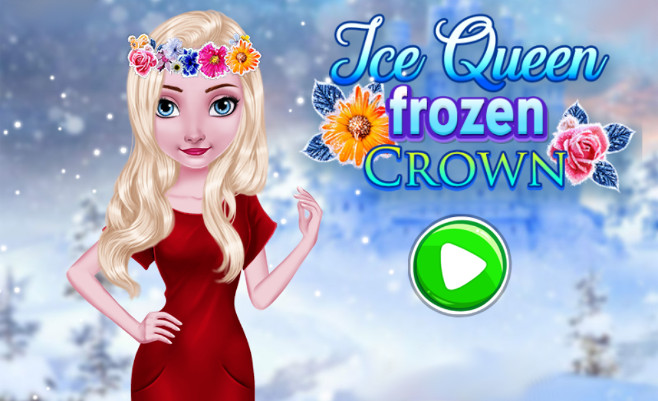 Ice Queen Frozen Crown