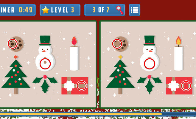 Christmas Items Differences