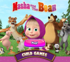 Masha e Orso Child Games