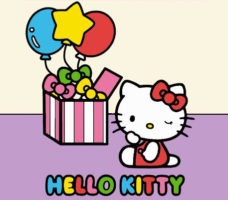 Colora i numeri con Hello Kitty